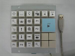 組込用カスタムキーボード使用例